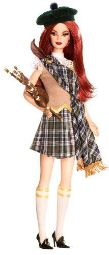 "Barbie Коллекционная кукла Барби ""Куклы Мира"", Шотландия"