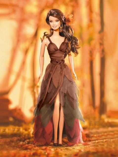 """Barbie Коллекционная кукла Барби """"Мечты об Осени"""""""