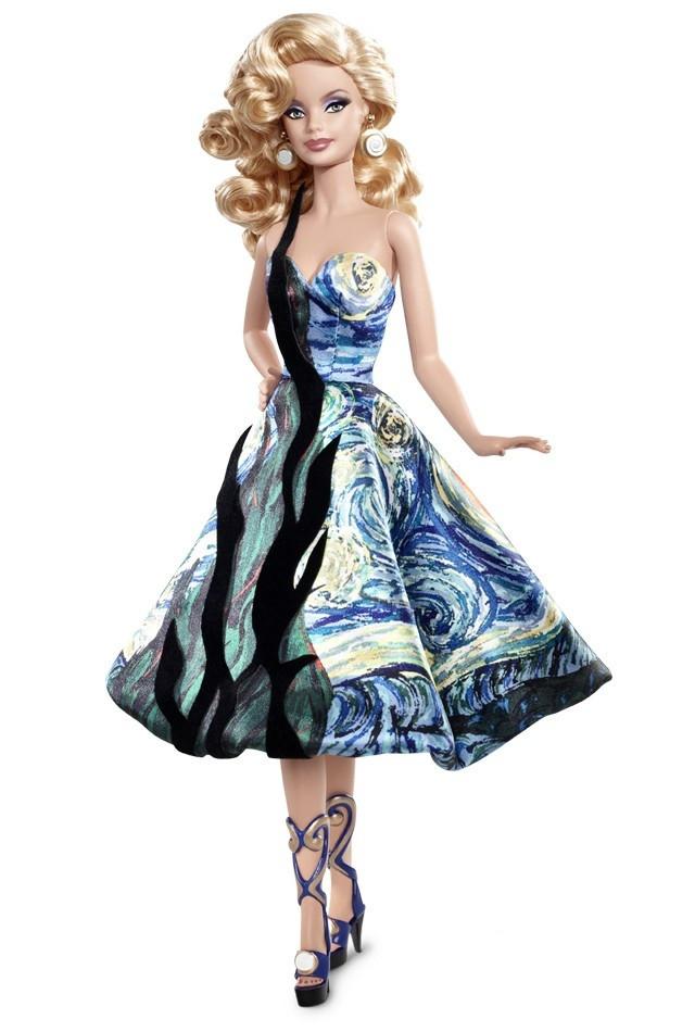"Barbie Коллекционная кукла Барби ""Музейная коллекция"" Винсент Ван Гог"