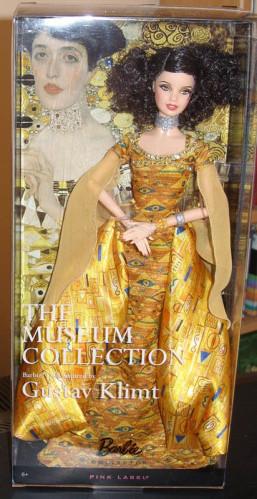 """Barbie Коллекционная кукла Барби """"Музейная коллекция"""" Гюстав Климт"""
