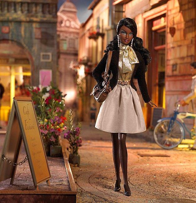 "Barbie Коллекционная кукла Барби ""На месте: Милан"""