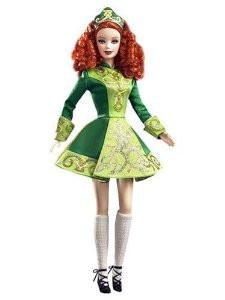 "Barbie Коллекционная кукла Барби ""Фестивали Мира"", Dance Irish - Ирландия"
