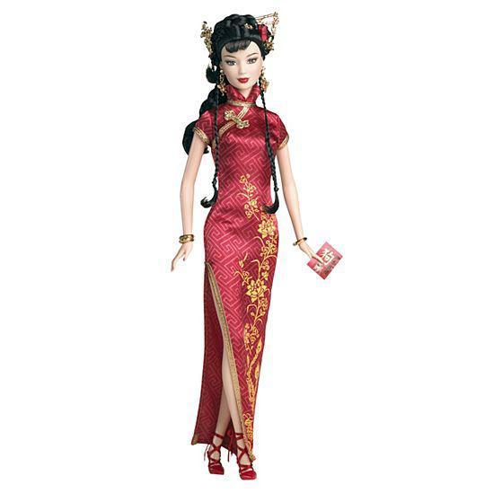 """Barbie Коллекционная кукла Барби """"Фестивали Мира"""", Китайский Новый Год - Китай"""