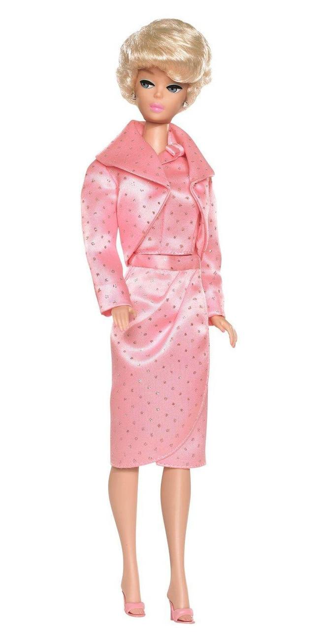 """Barbie Коллекционная кукла Барби в подарочном наборе """"Сверкающий розовый"""""""