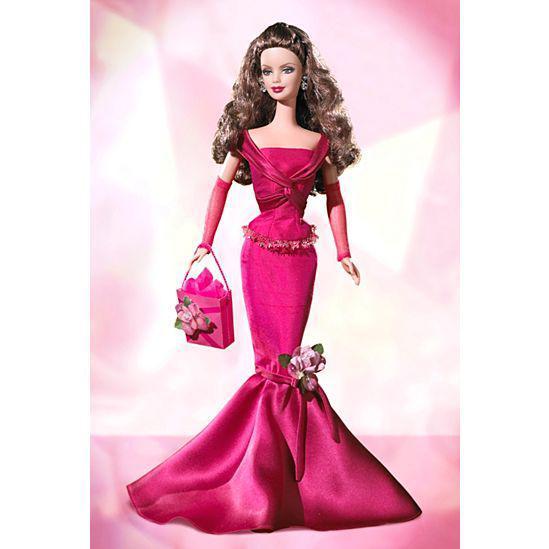 Barbie Коллекционная кукла Барби, Пожелания на день рождения - в красном