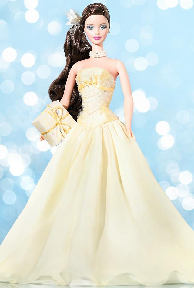 Barbie Коллекционная кукла Барби, Пожелания на день рождения - Ваниль