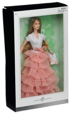 Barbie Коллекционная кукла Барби, Пожелания на день рождения - Персик