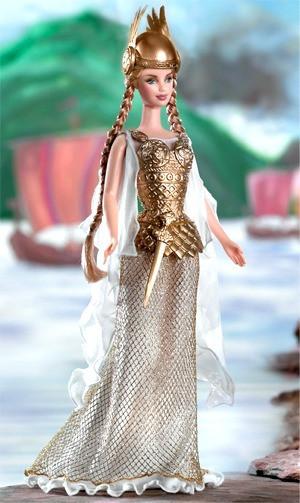 Barbie Коллекционная кукла Барби, Принцесса Викингов
