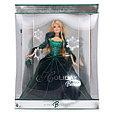 Barbie Коллекционная кукла Блондинка в зеленом платье - Праздничная 2004, Барби, фото 2