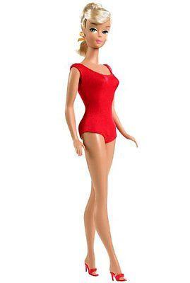 Barbie Коллекционная кукла Винтажная Мода 1964 год, Барби