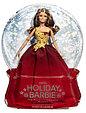 Barbie Коллекционная кукла Шатенка в красном платье - Праздничная 2016, Барби, фото 2