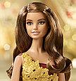 Barbie Коллекционная кукла Шатенка в красном платье - Праздничная 2016, Барби, фото 3