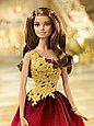 Barbie Коллекционная кукла Шатенка в красном платье - Праздничная 2016, Барби, фото 7