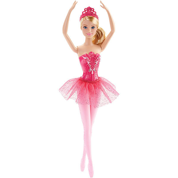 Barbie Кукла Барби Балерина в розовом