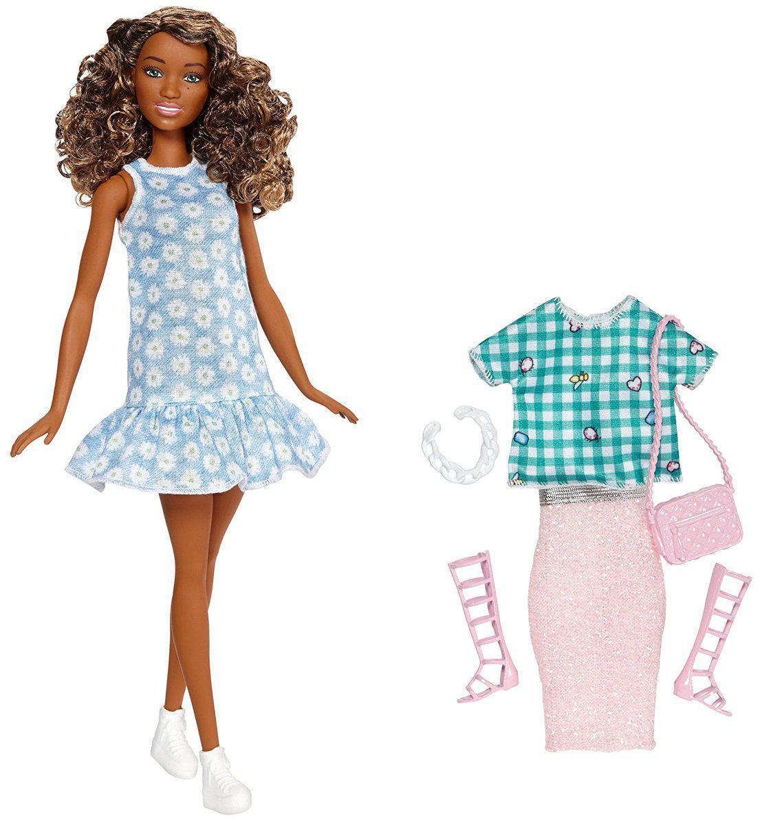 Barbie Кукла Барби Мулатка, 2 наряда