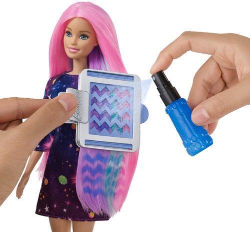 Barbie Кукла Барби с волосами меняющими цвет
