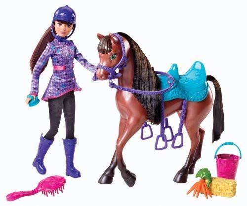 Barbie Кукла Скиппер с лошадкой, Барби