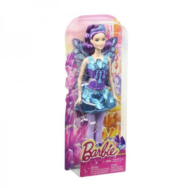 Barbie Кукла Фея Барби с фиолетовыми волосами