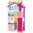 """Barbie Кукольный домик Барби """"Городской дом Малибу"""", фото 3"""