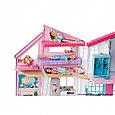 """Barbie Кукольный домик Барби """"Дом Малибу"""", 6 комнат, 25 аксессуаров, фото 2"""