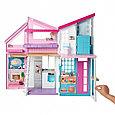 """Barbie Кукольный домик Барби """"Дом Малибу"""", 6 комнат, 25 аксессуаров, фото 3"""