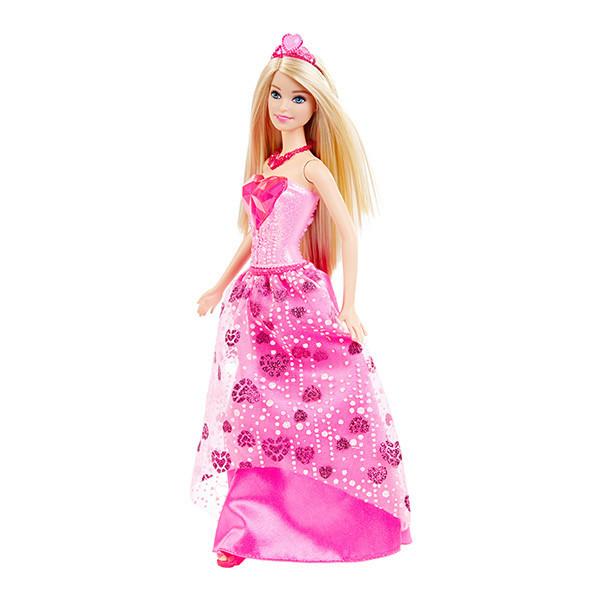 Barbie Принцессы - Кукла в платье с сердцем (СНГ)