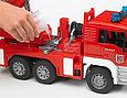 Bruder Игрушечная Пожарная машина MAN с лестницей и помпой (Брудер), фото 3