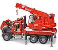 Bruder Игрушечная Пожарная машина Автокран MACK (Брудер), фото 3