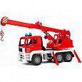 Bruder Игрушечная Пожарная машина Автокран MAN (Брудер), фото 2