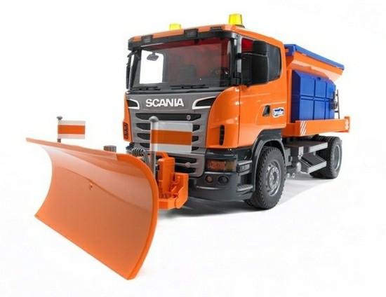 Bruder Игрушечная Снегоуборочная машина Scania (Брудер)