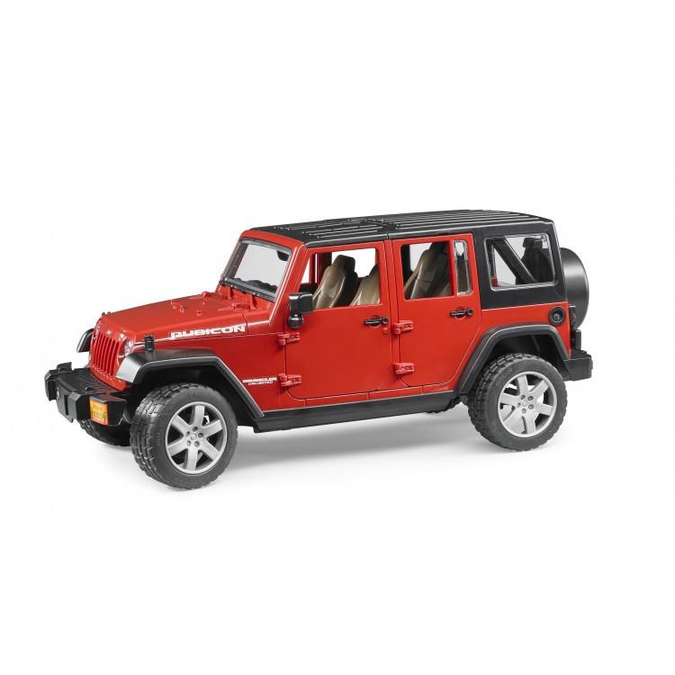 Bruder Игрушечный Внедорожник Jeep Wrangler Unlimited Rubicon (Брудер)