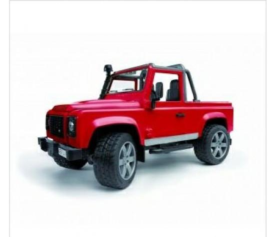 Bruder Игрушечный Внедорожник-пикап Land Rover - красный (Брудер)