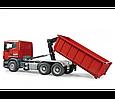 Bruder Игрушечный Контейнеровоз Scania со снимающимся контейнером (Брудер), фото 4