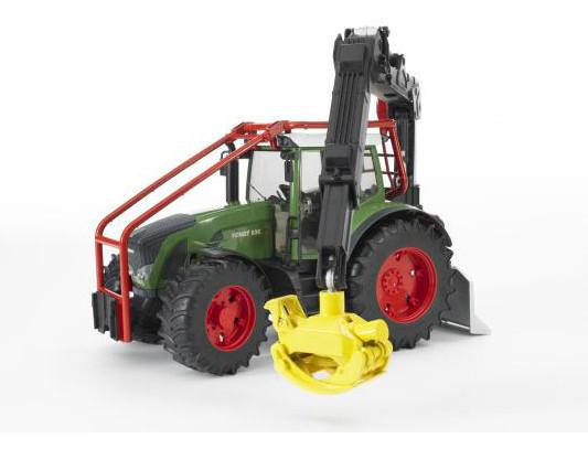 Bruder Игрушечный Лесной Трактор Fendt 936 Vario с манипулятором (Брудер)