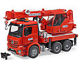 Bruder Игрушечный Пожарный Автокран Mercedes-Benz Arocs (Брудер), фото 2