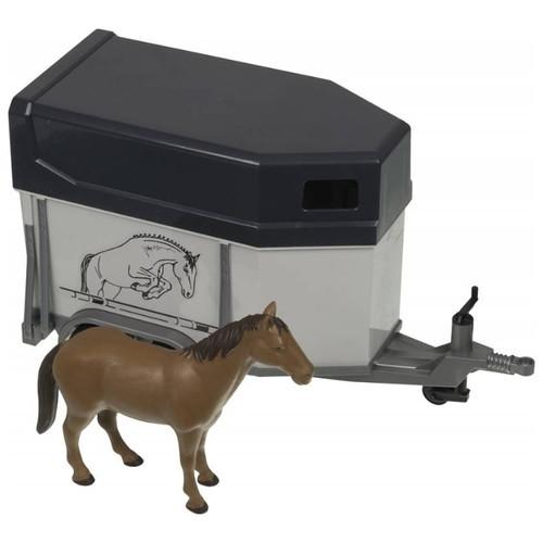 Bruder Игрушечный Прицеп-коневозка и лошадью (Брудер)