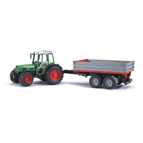 Bruder Игрушечный Трактор Fendt 209 S с прицепом (Брудер)