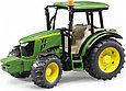 Bruder Игрушечный Трактор John Deere 5115M с прицепом (Брудер 02-108), фото 2