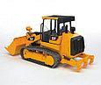 Bruder Игрушечный Трактор гусеничный CAT c погрузчиком (Брудер), фото 3