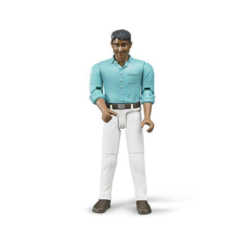 Bruder Фигурка Мужчина мексиканец в белых джинсах (Брудер)