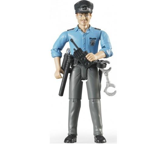 Bruder Фигурка полицейского с аксессуарами (Брудер)