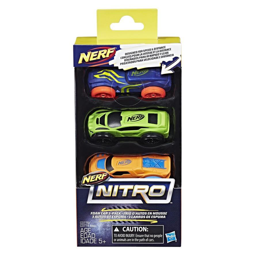 Hasbro Nerf Nitro Набор из 3 машинок Нитро