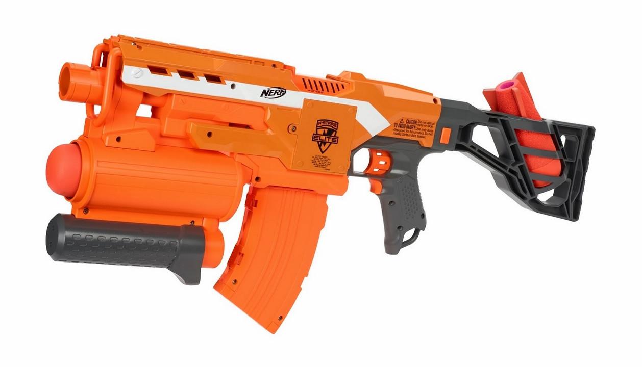 "Hasbro Nerf N-Strike Elite Бластер ""Разрушитель"" (Demolisher)"