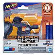 "Hasbro Nerf N-Strike Elite Бластер Micro Shots ""Файрстрайк"" (Firestrike), фото 2"