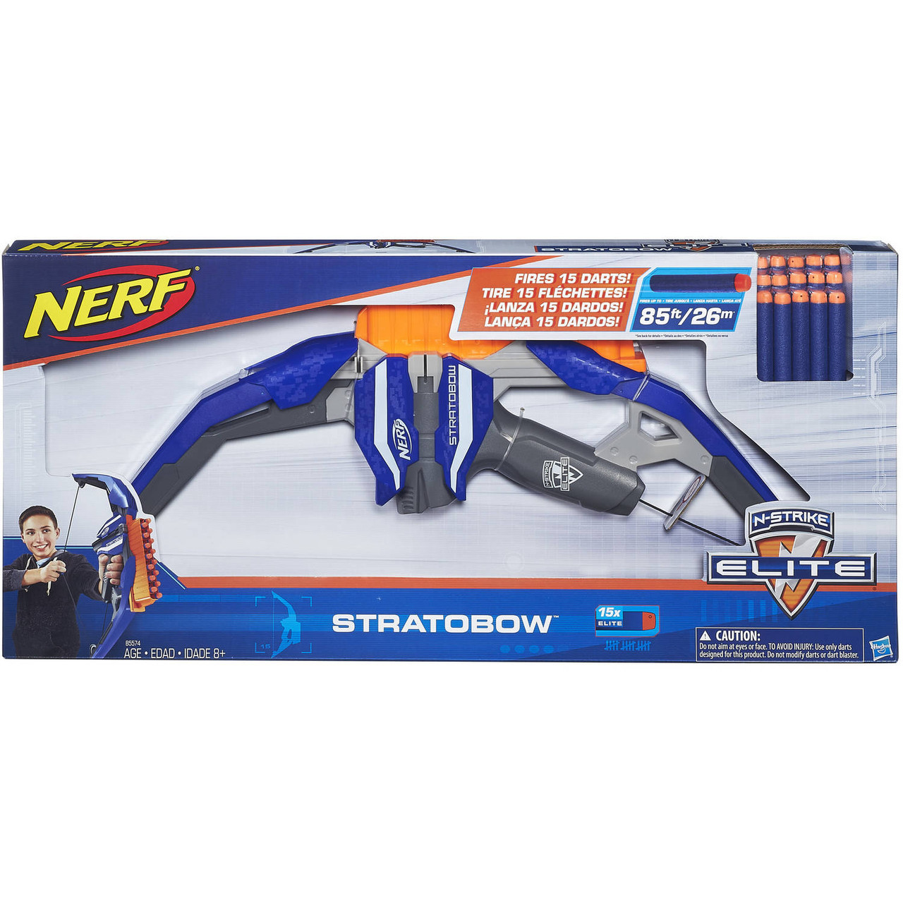 "Hasbro Nerf N-Strike Elite Лук Бластер ""Страто"" (StratoBow)"