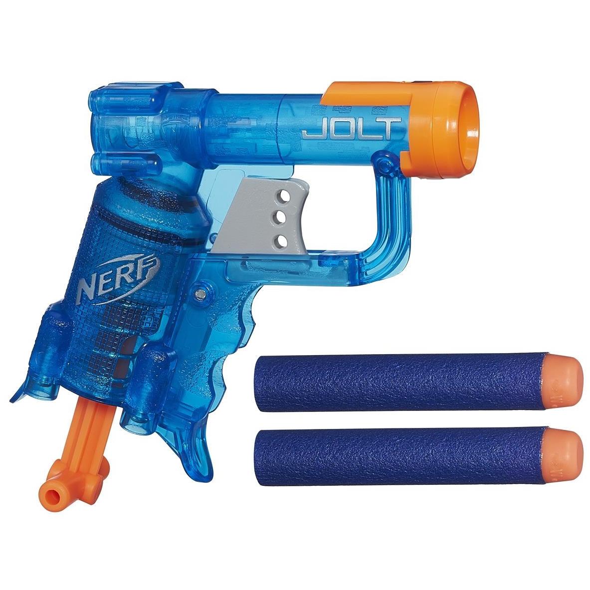 "Hasbro Nerf N-Strike Elite Пистолет Бластер ""Джолт"" (Jolt). Цветные"