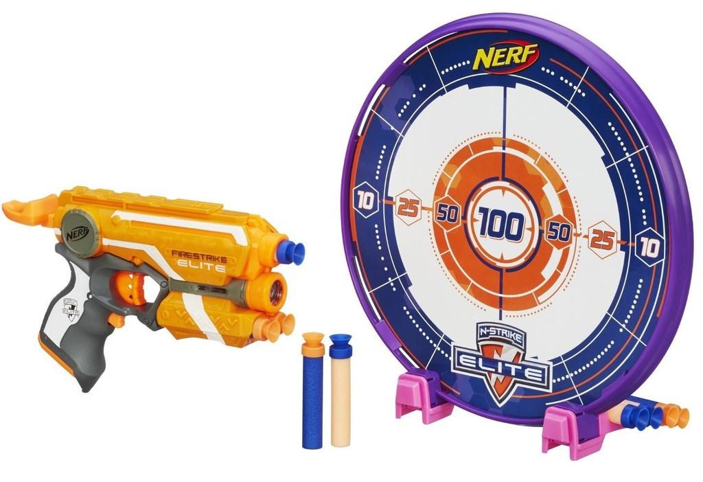 "Hasbro Nerf N-Strike Elite Пистолет Бластер ""Файрстрайк"" с мишенью (Firestrike)"