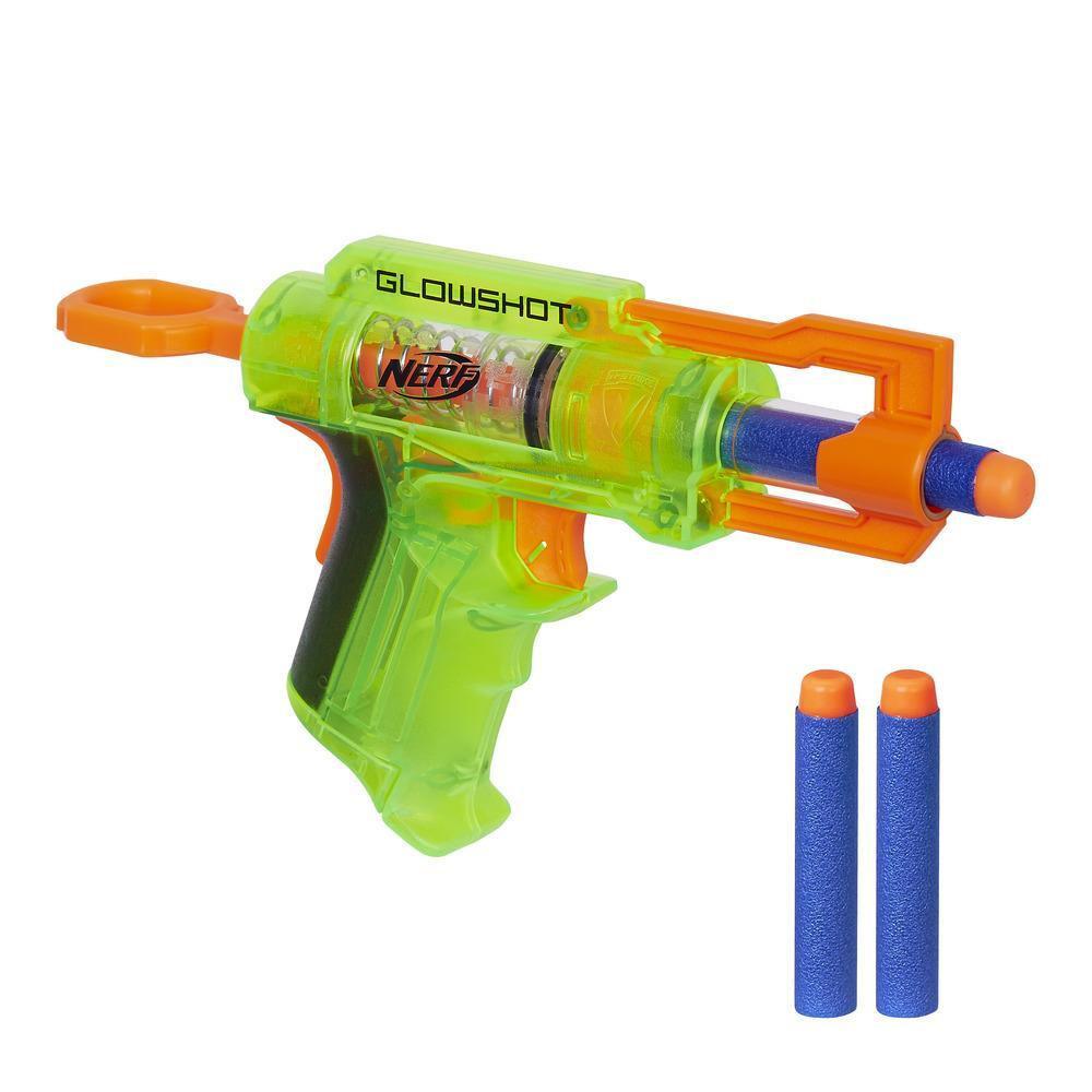 Hasbro Nerf N-Strike Elite Пистолет Бластер Глоушот (Glowshot)