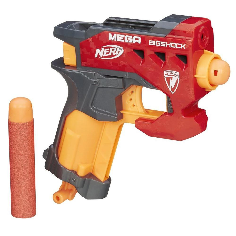 "Hasbro Nerf N-Strike Mega Пистолет Бластер ""Большой выстрел"" (BigShock)"