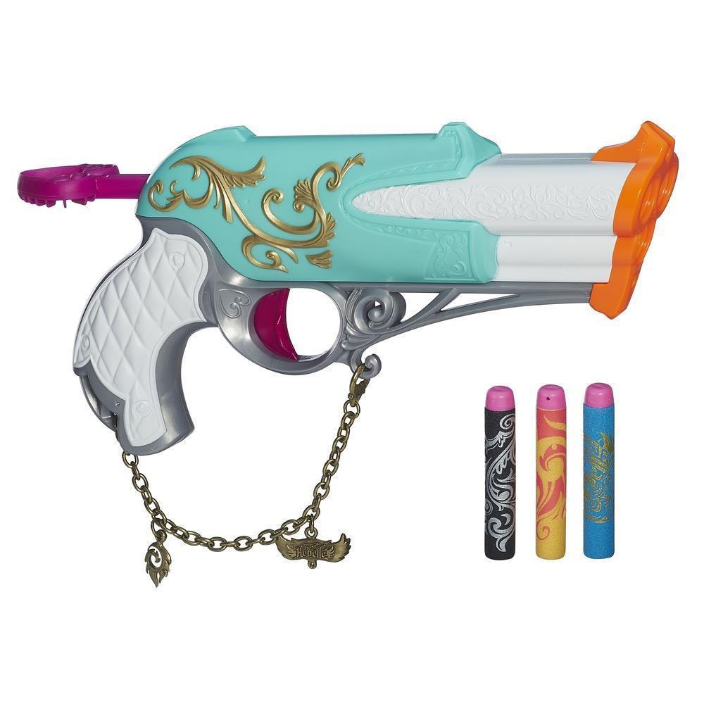 "Hasbro Nerf Rebelle Charmed Пистолет Бластер для девочки ""Неустрашимый"" (Dauntles)"
